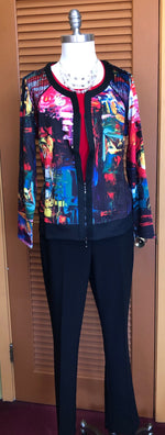 Christy abstract jacket