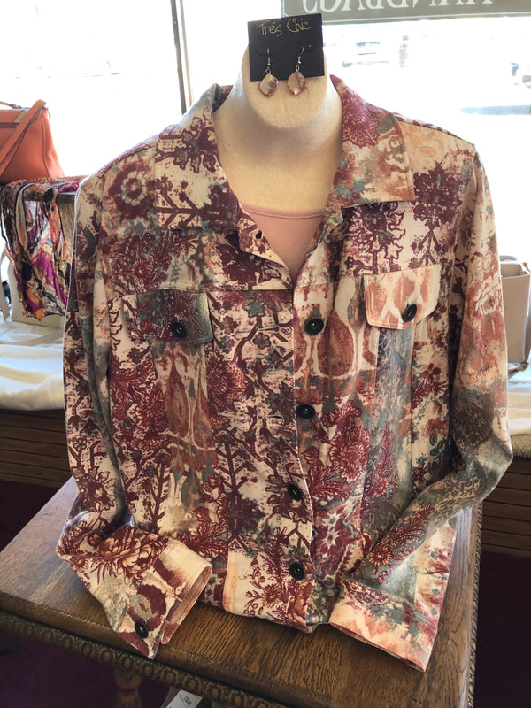 Ada country floral jacket