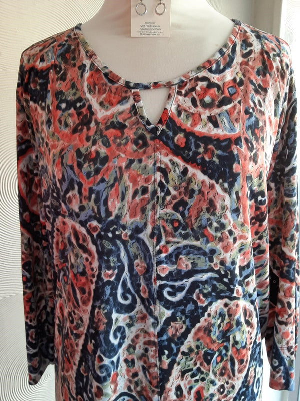 Lucille abstract top