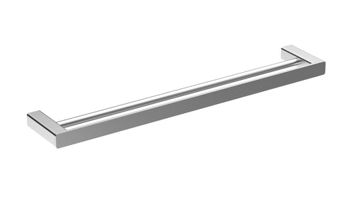 Aquamoon A20 Bathroom Dual Towel Bar 24-Inch Wall Mounted Brushed Nickel Finished