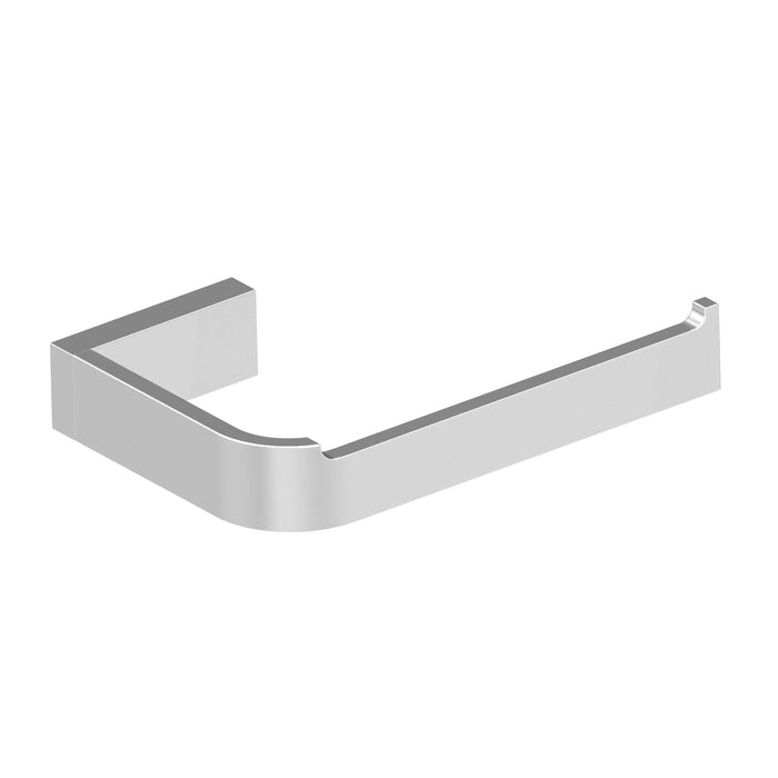 Aquamoon A30 Bathroom Toilet Tissue Paper Roll Holder Wall Mounted One Roll Brushed Nickel Finished