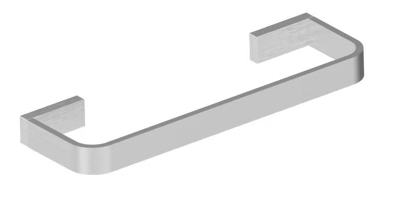 Aquamoon A30 Hand Towel Holder Wall Mounted Brushed Nickel Finished