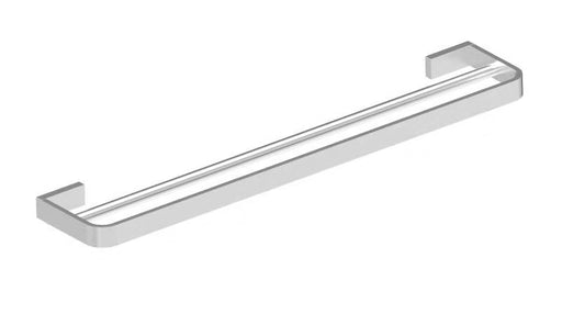 Aquamoon A30 Bathroom Dual Towel Bar 24-Inch Wall Mounted Brushed Nickel Finished