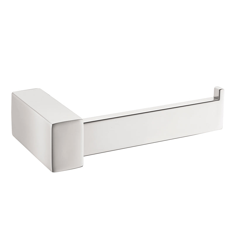Aquamoon A31 Bathroom Toilet Tissue Paper Roll Holder Wall Mounted One Roll Brushed Nickel Finished
