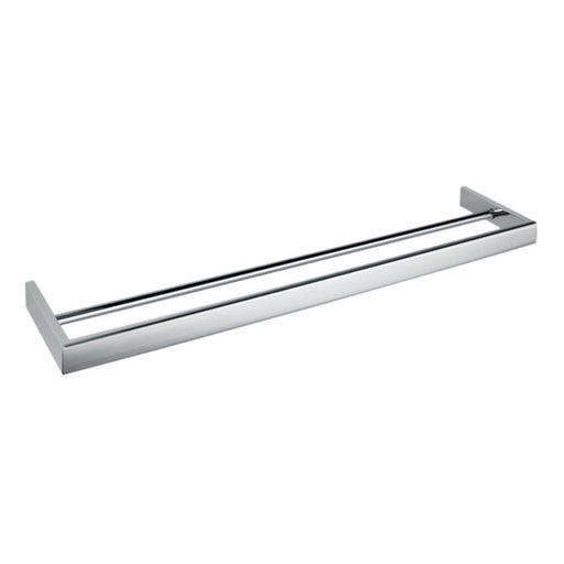 Aquamoon A34 Bathroom Dual Towel Bar 24-Inch Wall Mounted Chrome Finished