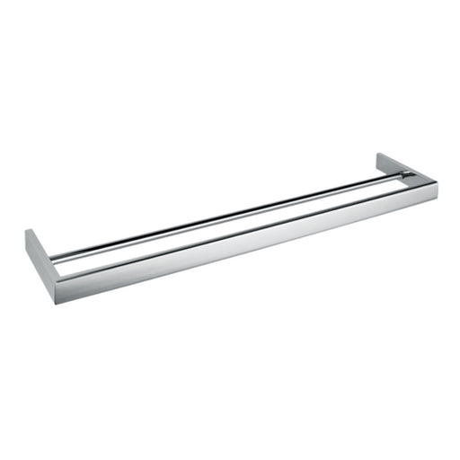 Aquamoon A34 Bathroom Dual Towel Bar 24-Inch Wall Mounted Brushed Nickel Finished