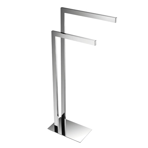 Aquamoon Square Free Standing Towel Rack