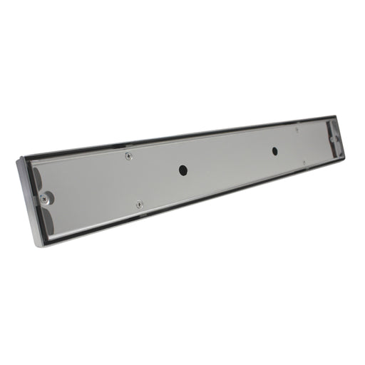 Aquamoon  Tile Insert 24-Inch  Linear Shower Drain, 316 Stainless Steel Rectangle With Hair Strainer