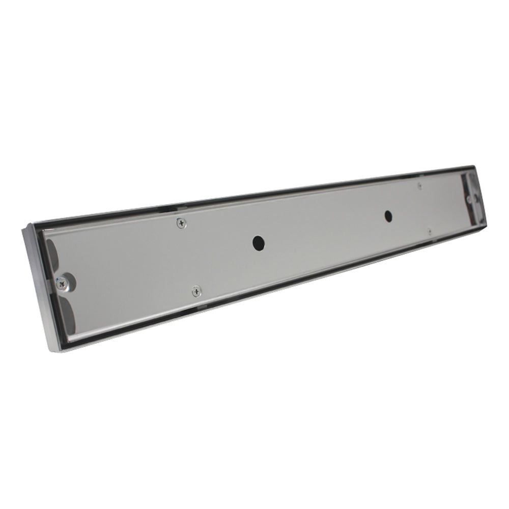 Aquamoon  Tile Insert 32 Inch  Linear Shower Drain, 316 Stainless Steel Rectangle With Hair Strainer