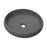 Aquamoon 1153 Grey Modern Round Vessel Solid Surface 15.75 X 15.75  X 4.5