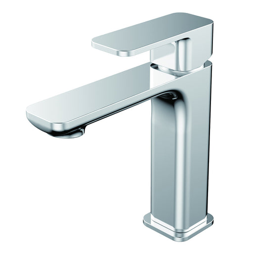 Aquamoon Arkon  Single Hole Mount Bathroom Vanity Faucet Chrome Finished