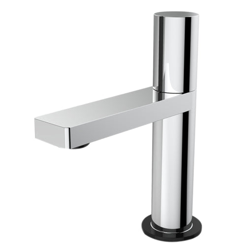 Aquamoon Barcelona Single Hole Mount Bathroom Vanity Faucet Chrome Finished