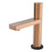 Aquamoon Barcelona Single Hole Mount Bathroom Vanity Faucet Copper  Finished