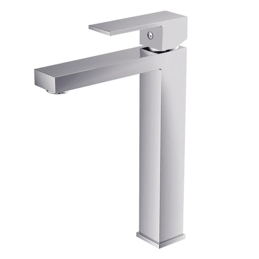 Aquamoon Milan Single Hole Vessel Bathroom Vanity Faucet Chrome Finished - Bath Trends USA