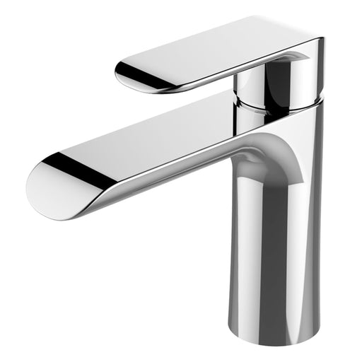 Aquamoon Pryda Single Hole Mount Bathroom Vanity Faucet Brush Nickel   Finished