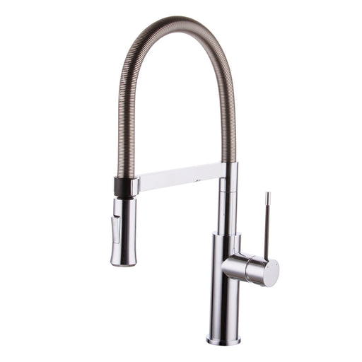 Aquamoon Atlas Single-Handle Kitchen Sink Faucet, Chrome Finished