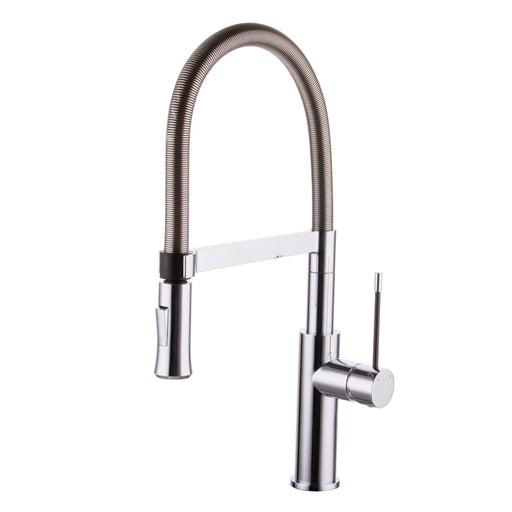 Aquamoon Atlas Single-Handle Kitchen Sink Faucet, Brushed Nickel Finished