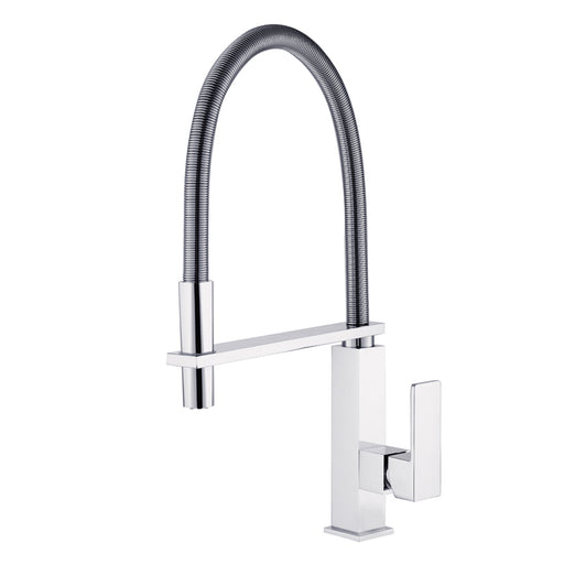 Aquamoon Milan Single-Handle Kitchen Sink Faucet, Chrome Finished