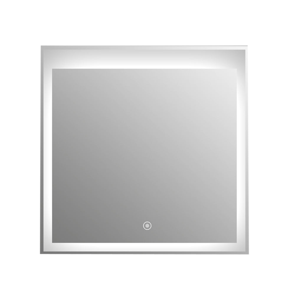 "Aquamoon Mm3Lt600 Led Bathroom Mirror 24"" X 24"" Wall Mounted Side Switch 6000K High Lumen"