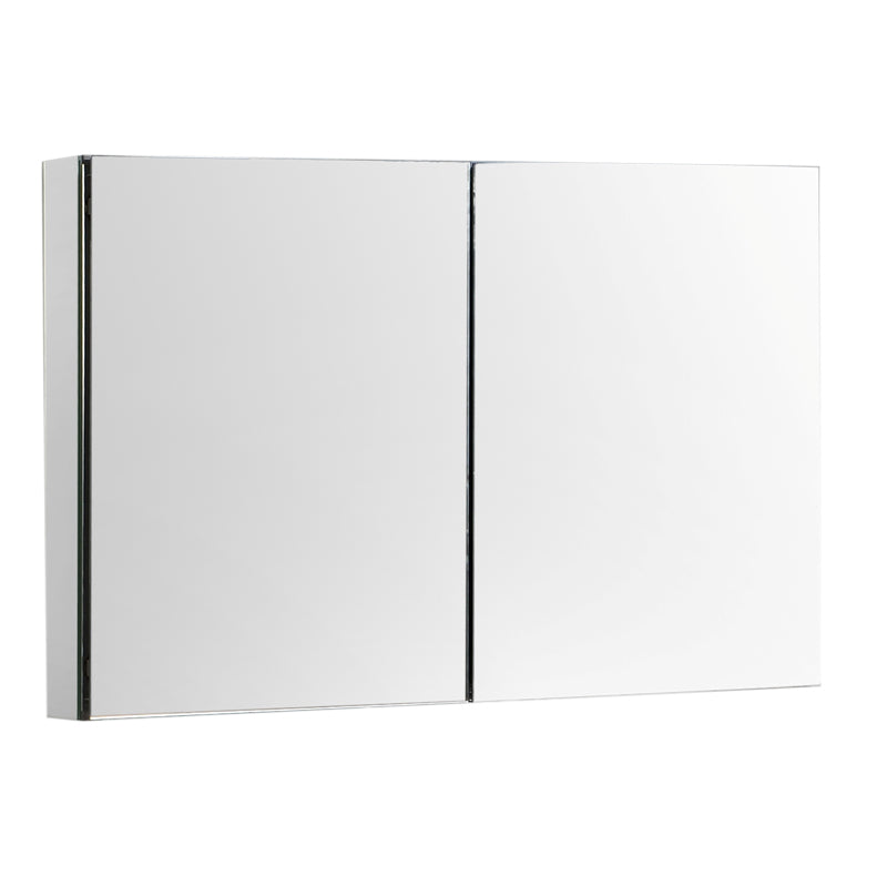 "Aquamoon Mm40 Frameless 40"" X26"" Bathroom Medicine Cabinet Recess Or Wall Mounted Installation"