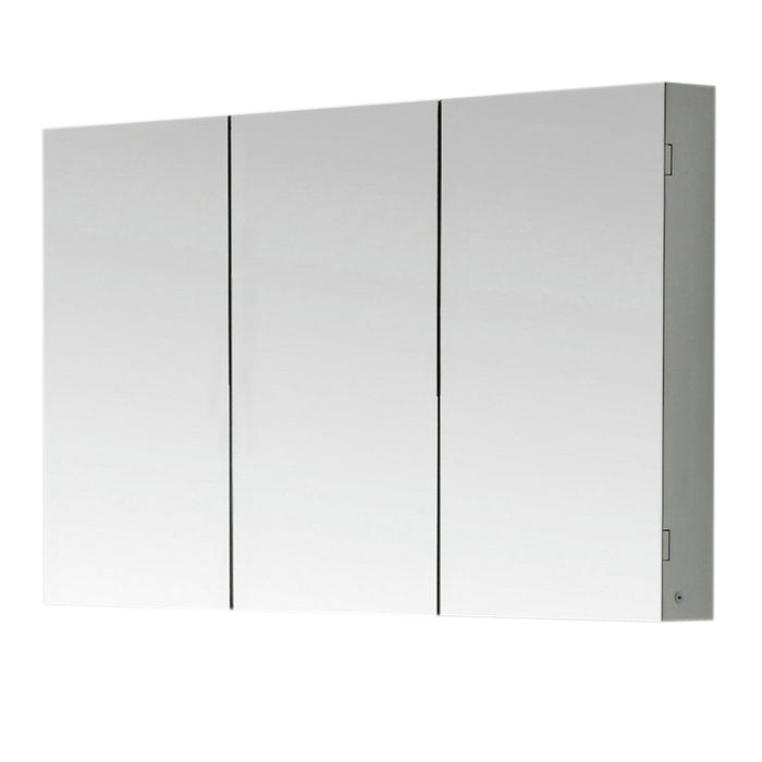 "Aquamoon Mm60 Frameless 60"" X26"" Bathroom Medicine Cabinet Recess Or Wall Mounted Installation"
