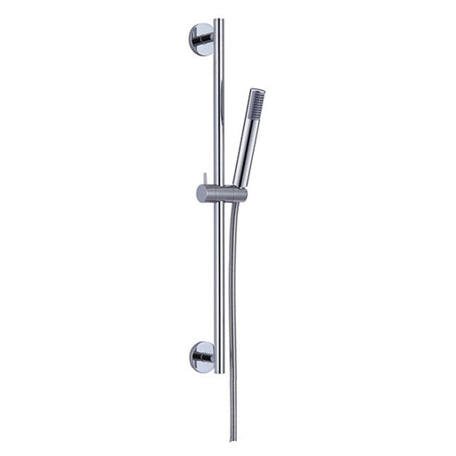 Aquamoon 1004 Stainless Steel Slide Bar With Height Adjustable, Chrome Finished
