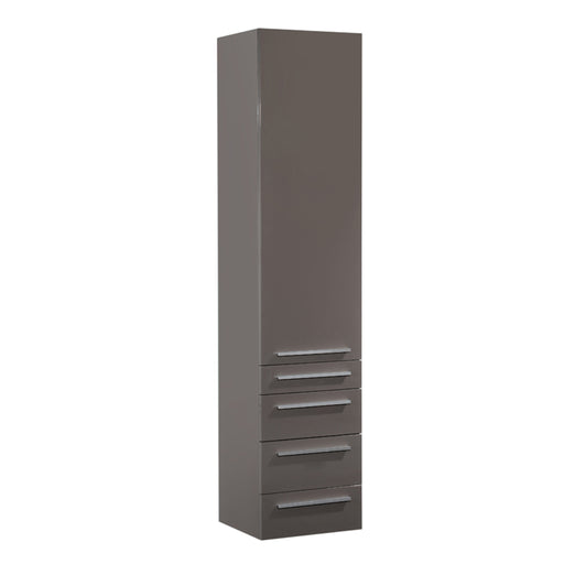 Vance Side Cabinet Grey Brown