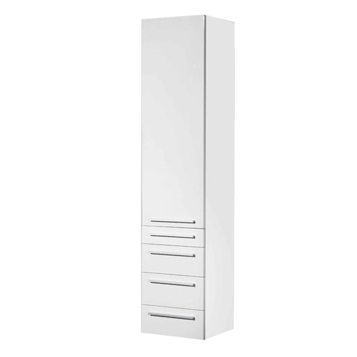 Vance Side Cabinet White