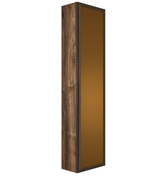 Verona Side Cabinet 14.25 X 12 X 60 Glass Door