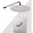 "Aquamoon Barcelona Brushed Nickel Shower With Tub Spout And 8"" Rain Shower Head, Wall Mounted Arm + Rough In + Trim Included Setbar10822 - Bath Trends USA"