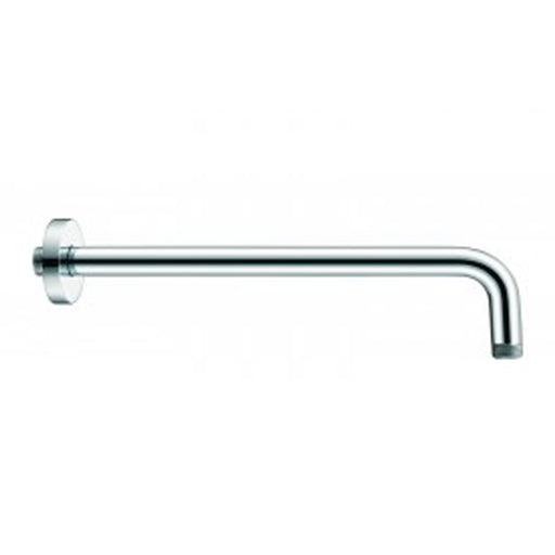 "Aquamoon 15"" Shower Arm Wall Round Chrome With Flange"