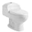 Aquamoon 510 Dual Flush Elongated One Piece Toilet With Soft Closing Seat, Water Sense, High-Efficiency, Color White