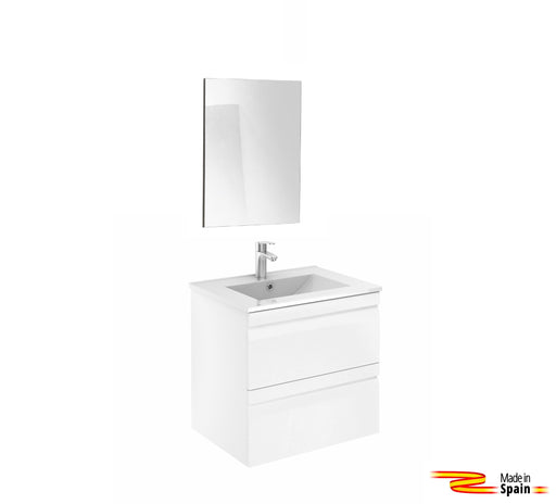 Aquamoon Girona 24 White - CABINET ONLY