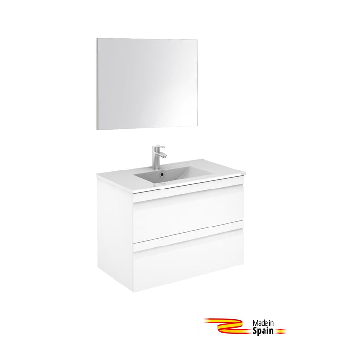 Aquamoon Girona 32 White - CABINET ONLY