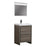Aquamoon Granada 24 Maple Grey Free Standing Modern Bathroom Vanity Set
