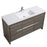 Aquamoon Granada 60 Maple Grey Free Standing Modern Bathroom Vanity Set