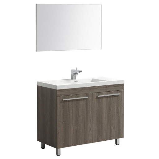 Aquamoon Ocean 48 Maple Grey Free Standing Modern Bathroom Vanity Set
