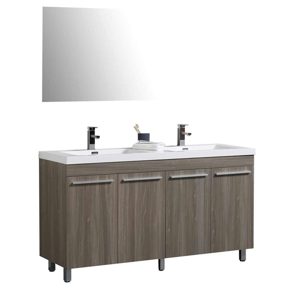 Ocean 60 Maple Grey - CABINET ONLY