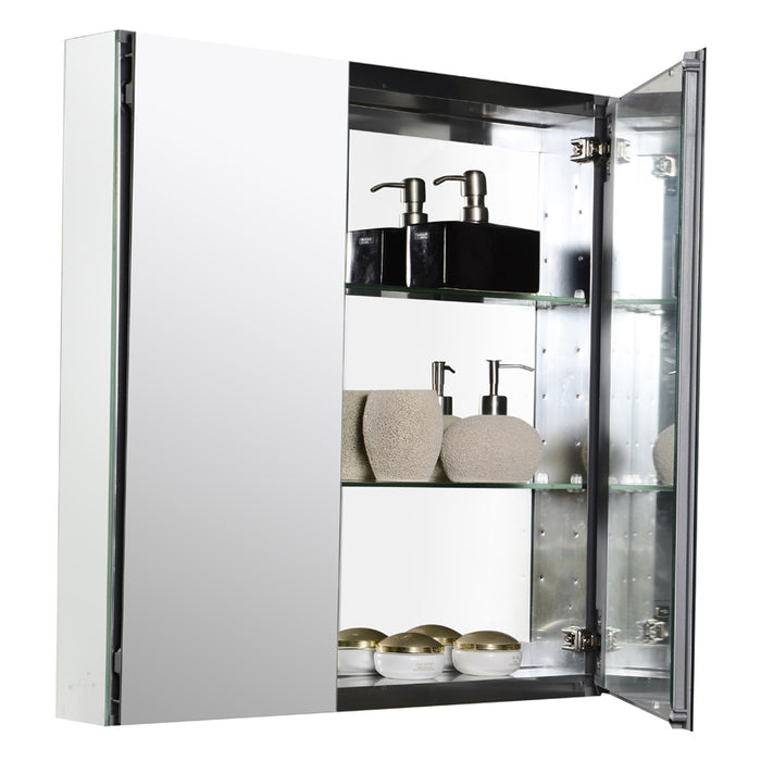 Venice 36 White Hg - CABINET ONLY
