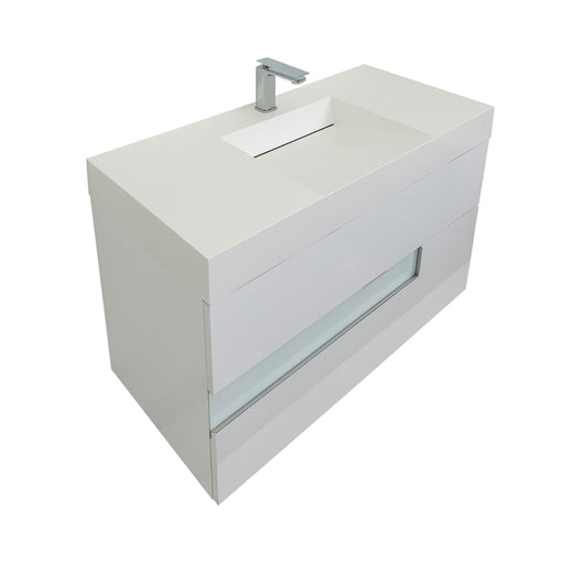Vision 31 Infinity Sink White
