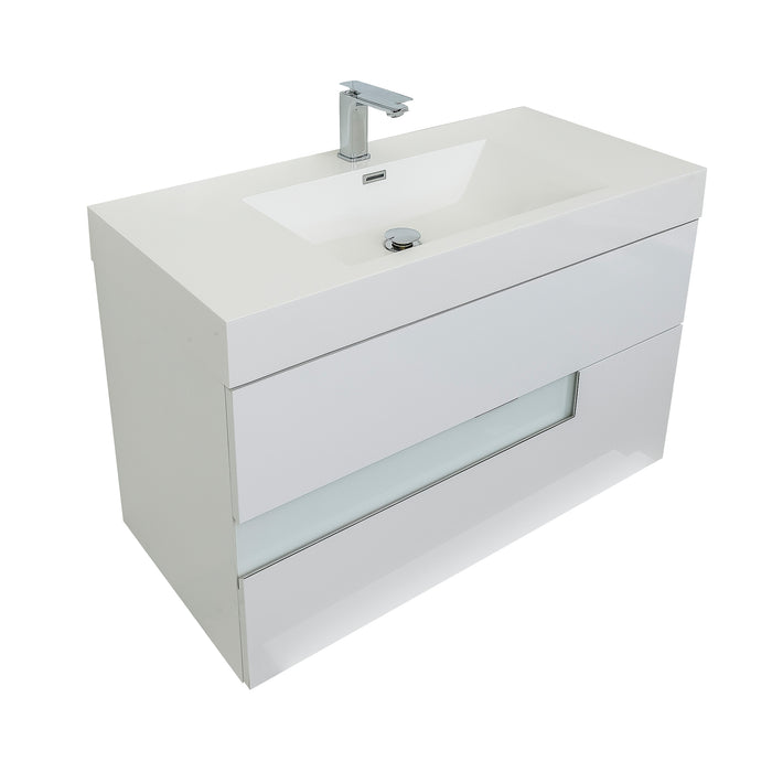 Vision 31 Square Sink White