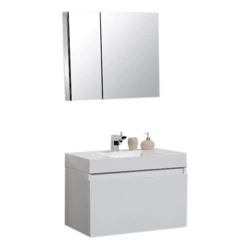 Vision 39 Modern Bathroom Vanity Set - Bath Trends USA