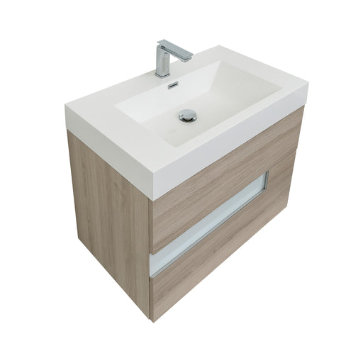 Vision Natural 31 Square Sink Modern Bathroom - Bath Trends USA