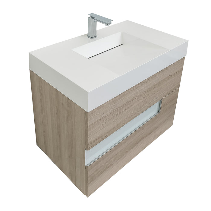 Vision Natural 31 Infinity Sink Modern Bathroom - Bath Trends USA