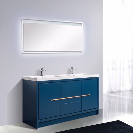 Aquamoon Granada Double 60 Matte Blue