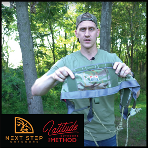 NEXT STEP OUTDOORS OVERVIEW - THE METHOD SADDLE