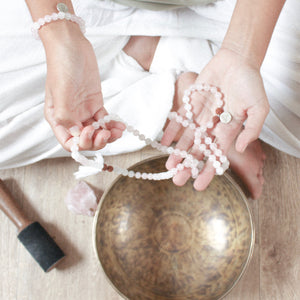 LOVE & INTUITION - Rose Quartz & Moonstone Bracelet