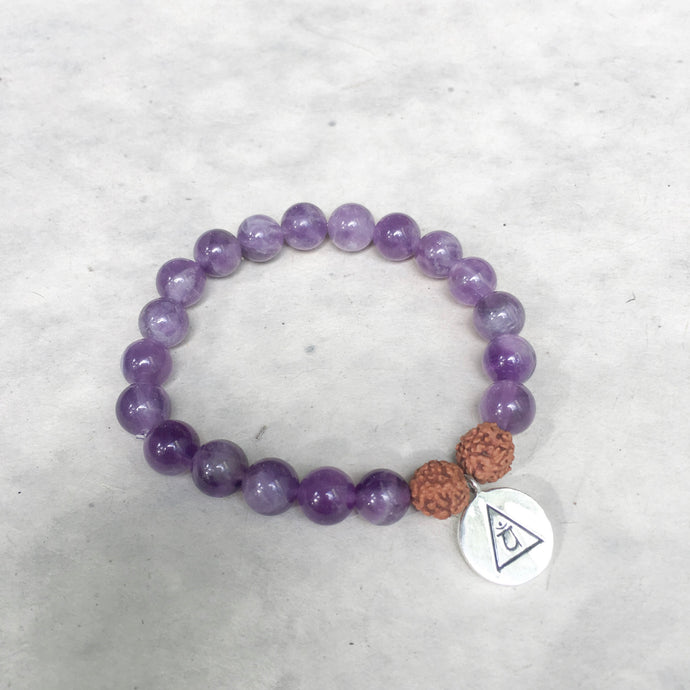 PROTECTION- Amethyst Bracelet