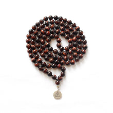 Load image into Gallery viewer, INNER POWER - Red Tiger's Eye Mala
