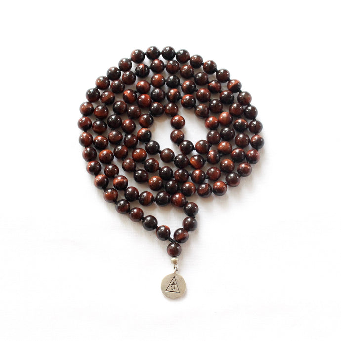 INNER POWER - Red Tiger's Eye Mala